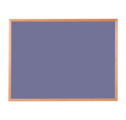 Hardwood Framed Sundeala Noticeboard in Oak (Lilac)