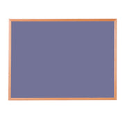Hardwood Framed Sundeala Noticeboard in Beech (Lilac)
