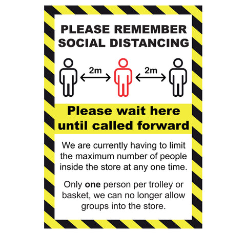 Warning Posters/Signs
