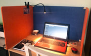 Acoustic Desk Divider  - Laptop Set Up