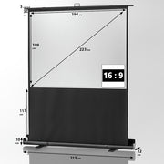 "Celexon Mobile Professional Plus Pull Up Screen (16:9) 1.9m 88"" - Size"