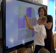 CleverTouch Impact Plus in a classroom
