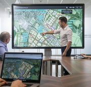 CleverTouch UX Pro in an office