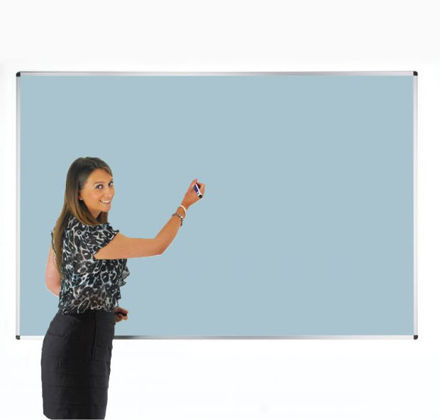 Colourwipe Dry Erase Whiteboard Pastel Blue