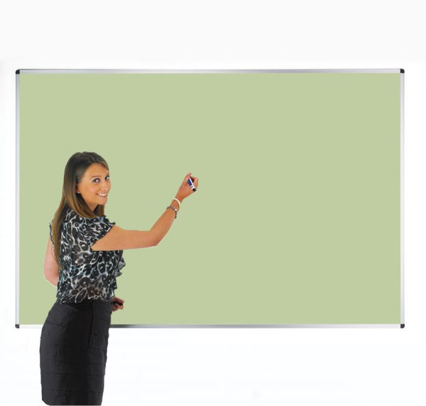 Colourwipe Dry Erase Whiteboard Pastel Green