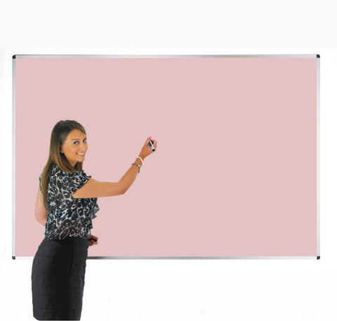Colourwipe Dry Erase Whiteboard Pastel Pink