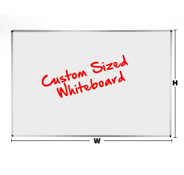 Aluminium Framed Custom Sized Whiteboard