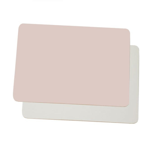 Dyslexia Friendly Colourwipe A4 Lap Boards Pastel Pink / Cream