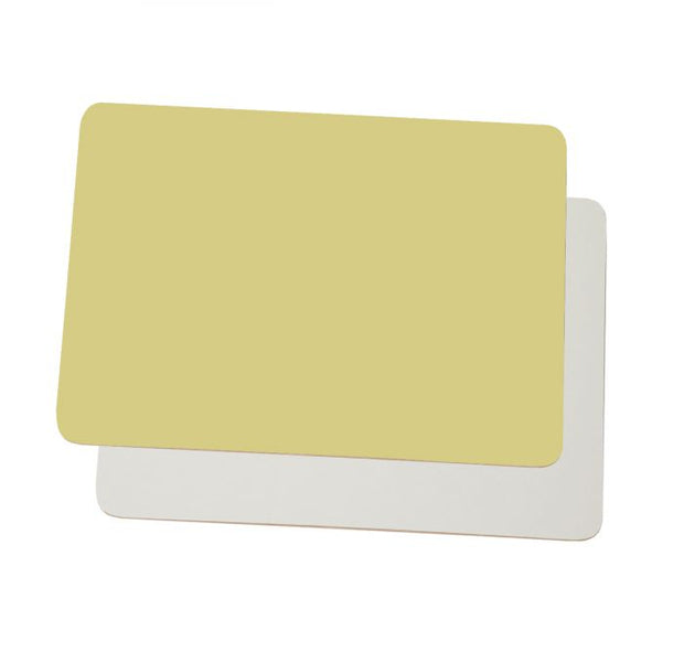 Dyslexia Friendly Colourwipe A4 Lap Boards Pastel Yellow / Cream