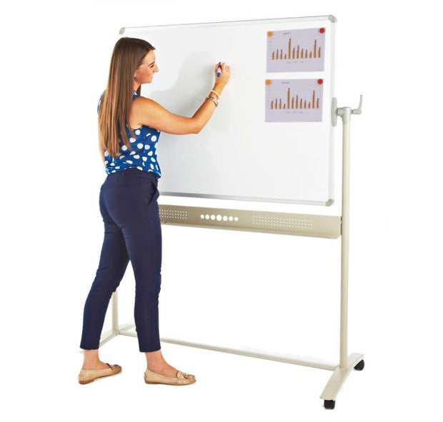 Magnetic Revolving Whiteboard