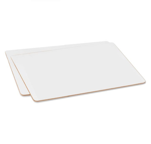 Non Magnetic A4 Lap Whiteboard Pack of 10