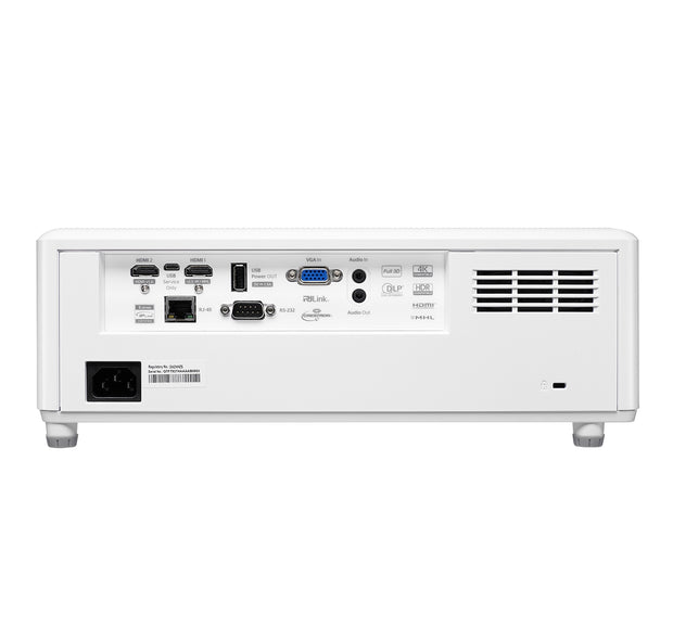 Optoma ZH403 - Connections