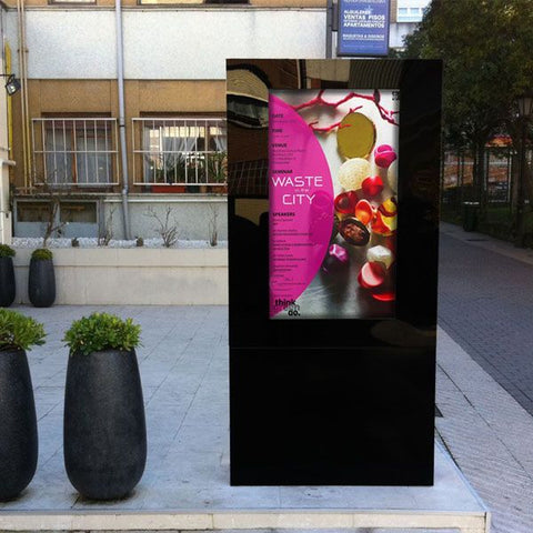 Outdoor Freestanding Poster Display