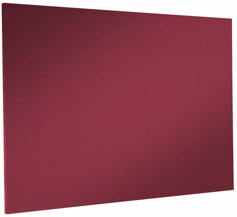 Custom Sized Felt Noticeboard Unframed Burgundy