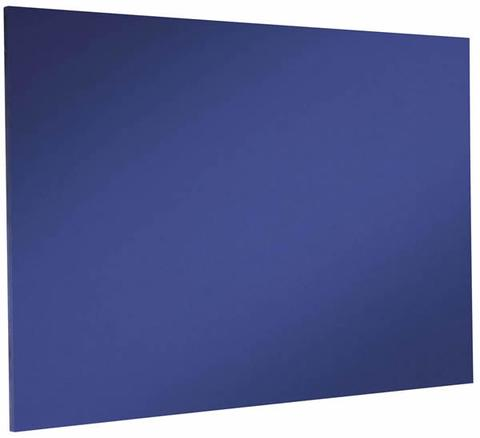 Custom Sized Felt Noticeboard Unframed Oxford Blue