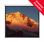 Sapphire Electric Wall Screen (Infra Red) (1:1) 2.0m 119''