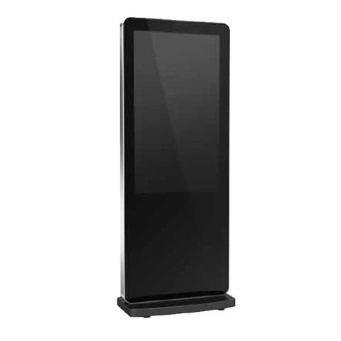 Slimline Freestanding Digital Poster Display