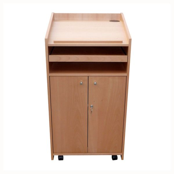 AV Lectern 13 closed cupboard