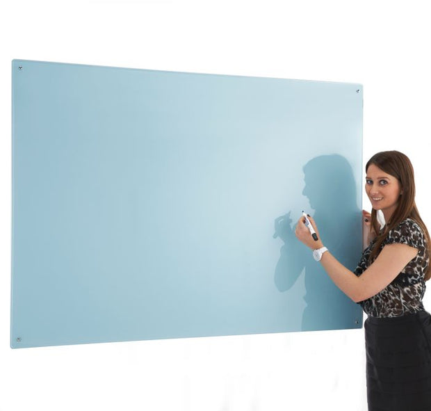 Write on Glass Whiteboards (Blue)