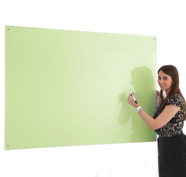 Write on Glass Whiteboards (Green)