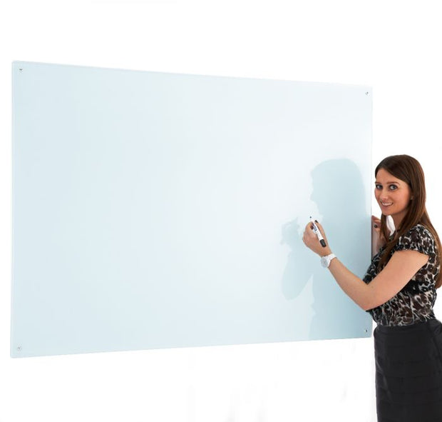 Write on Glass Whiteboards (White)