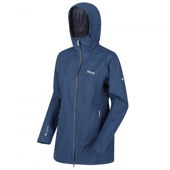 Regatta, Alysio Damenjacke wasserdicht marineblau mt XL, Casual Kleidung