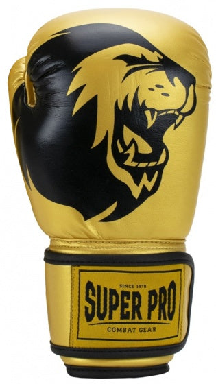 Super Pro, Combat Gear Talent boxhandschuhe junior gold mt 4oz, Box