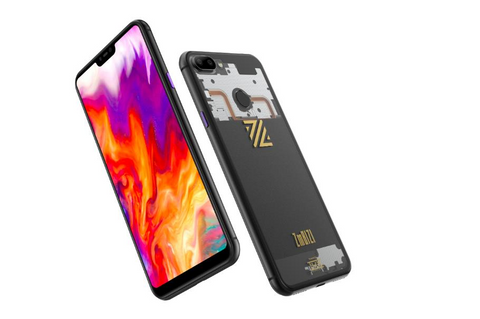 ZmBIZI phone front and back
