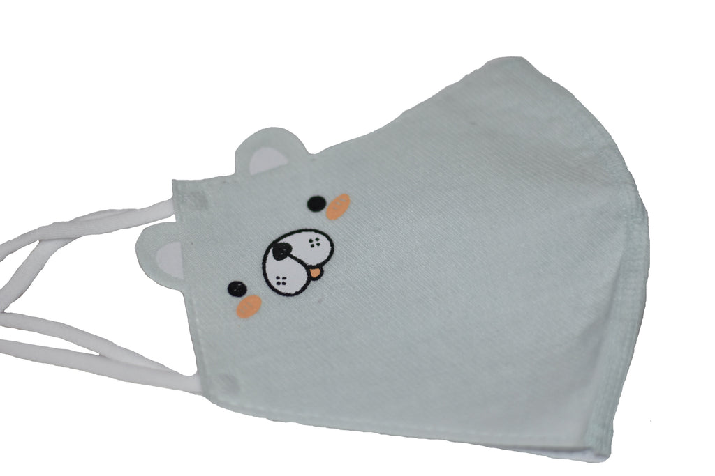 White Bear - Reusable Designer CDC Face Mask COVID-19 Corona Virus Protection