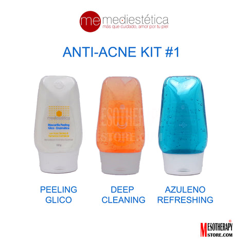 Anti-Acne Kit #1 Glycolic Acid By Mediestetica