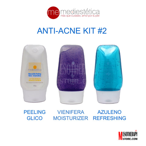 Anti-Acne Kit #2 Glycolic Acid By Mediestetic