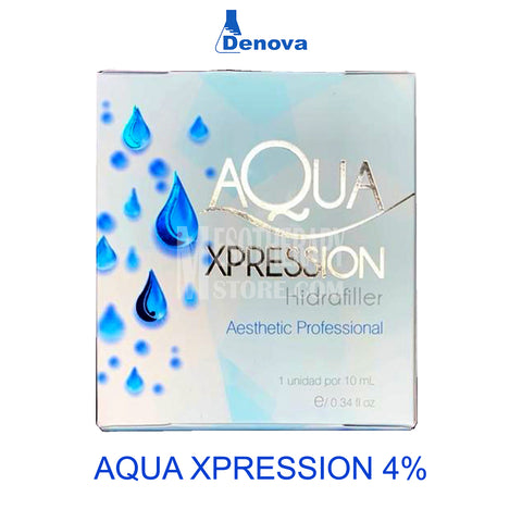 Aqua Xpression Hyaluronic 4% By Denova