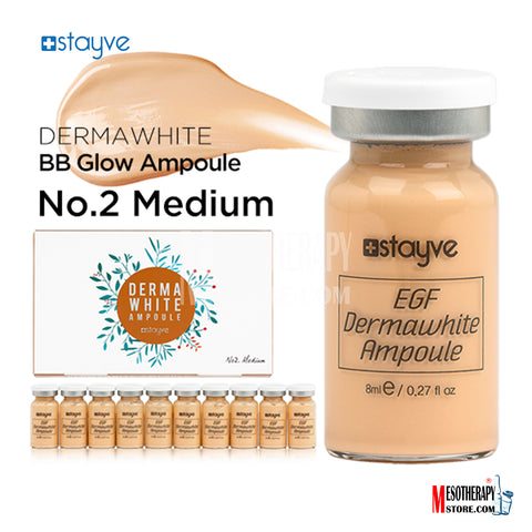 Derma White BB Glow No.2 Medium Stayve