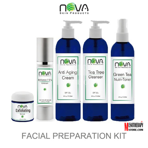 Facial Preparation Peel Kit 5 Products By Nova Skin