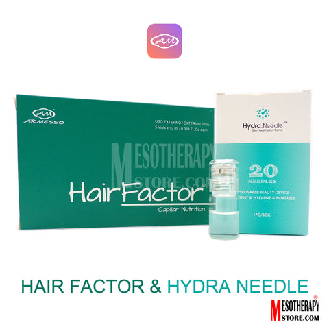 Hair Factor By Armesso & Hydra Needle