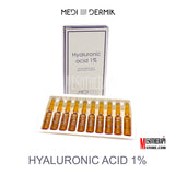 Hyaluronic Acid 1% 20ml By Medidermik