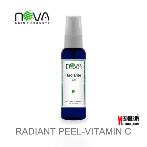 Radiant Peel Vitamin C Alpha & Beta Acids By Nova Skin