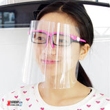 Multi-Funtional Full Face Cover Screen With Glasses Frame