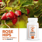 Vitamin C 1500mg With Rose Hips 3 Months Supply + FREE Goggle Shield