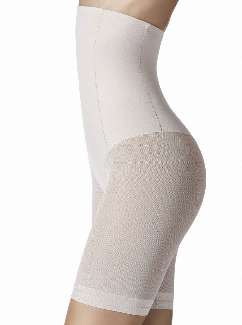 Ivory, dune or black. Perfect figure and thigh shaping!  Reduces up to one size or more due to its strong shaping ability. This shaping panty is constructed ergonomically to fit and control your every curve. Fabric guarantees compression while still remaining comfortable.