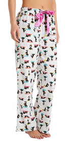 KAYANNA Flannel Yoga Dog Pajamas