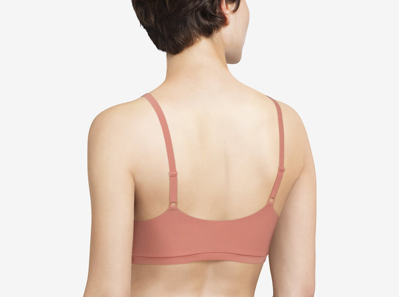CHANTELLE SoftStretch Scoop Neck Padded Bralette