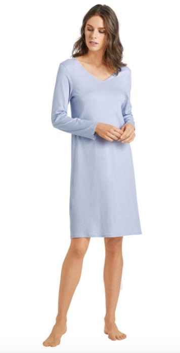 HANRO Bea Long Sleeve Gown