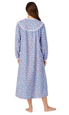 LANZ of SALZBURG Classic Tyrolean Flannel Gown, Mid Calf