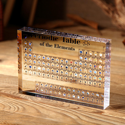 Acrylic Periodic Table Display