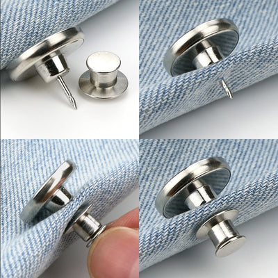 5pcs Removable Universal Buttons
