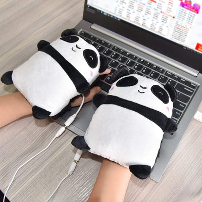 Cute Panda Heated Gloves