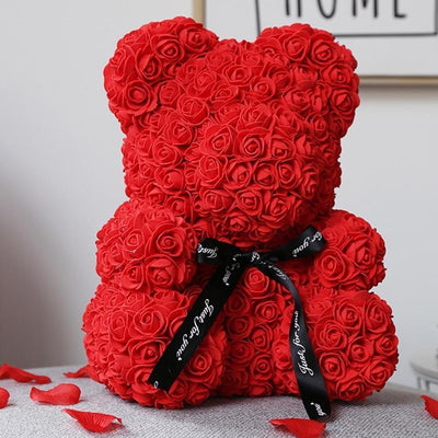 Forever Rose Teddy Bear
