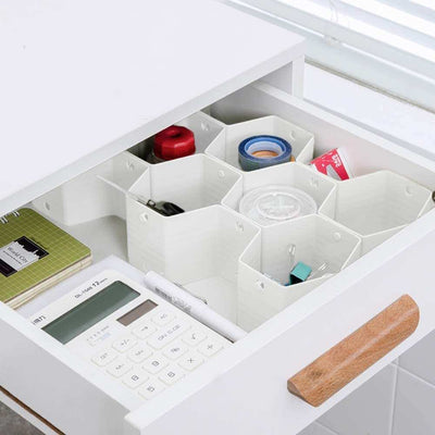 Honeycomb Closet Drawer Organizer