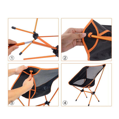 Ultralight Portable Folding Chair